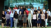 Đoàn học viên Portland State University (Hoa Kỳ) tham quan KCN Long Hậu
