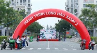 """LHC tổ chức thành công sự kiện đạp xe vì môi trường """"Hành trình Long Hậu Xanh lần 2 - 2017"""""""