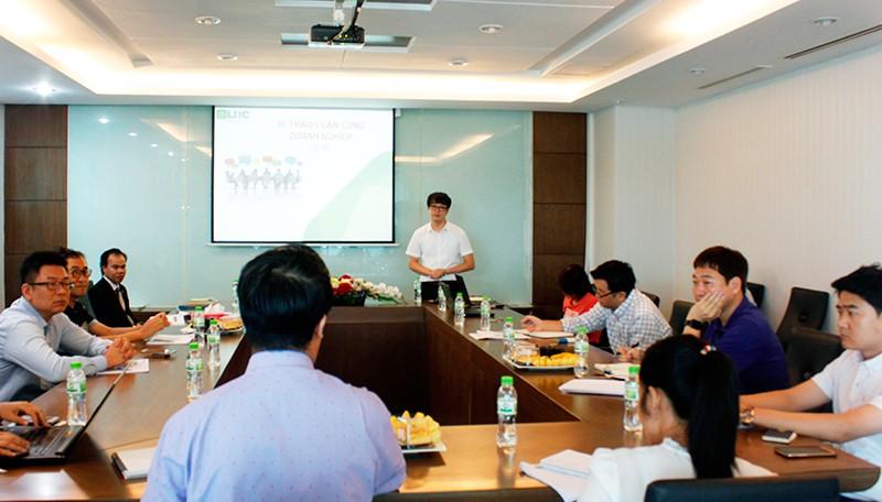 Công ty CP Long Hậu tổ chức họp mặt khách hàng Hàn Quốc năm 2017