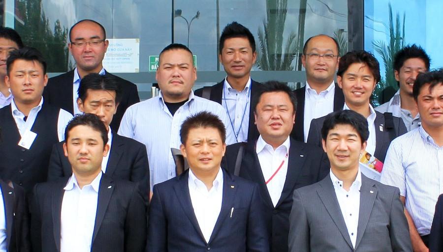 Đoàn khách Nhật - Kyushu
