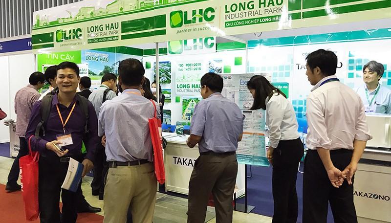 Công ty CP Long Hậu tham gia Triển lãm Vietnam Pharmedi 2017