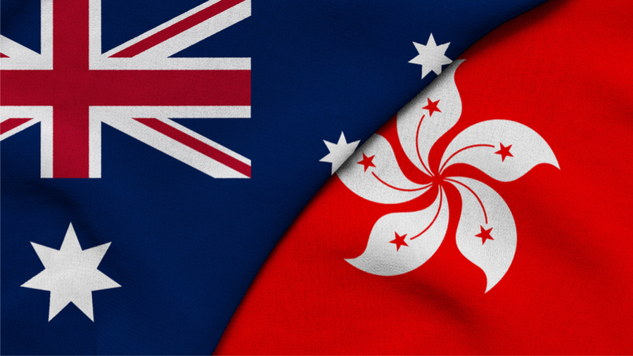 Hong Kong and Australia Sign New FTA