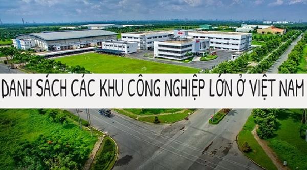 Những khu công nghiệp lớn tại Việt Nam