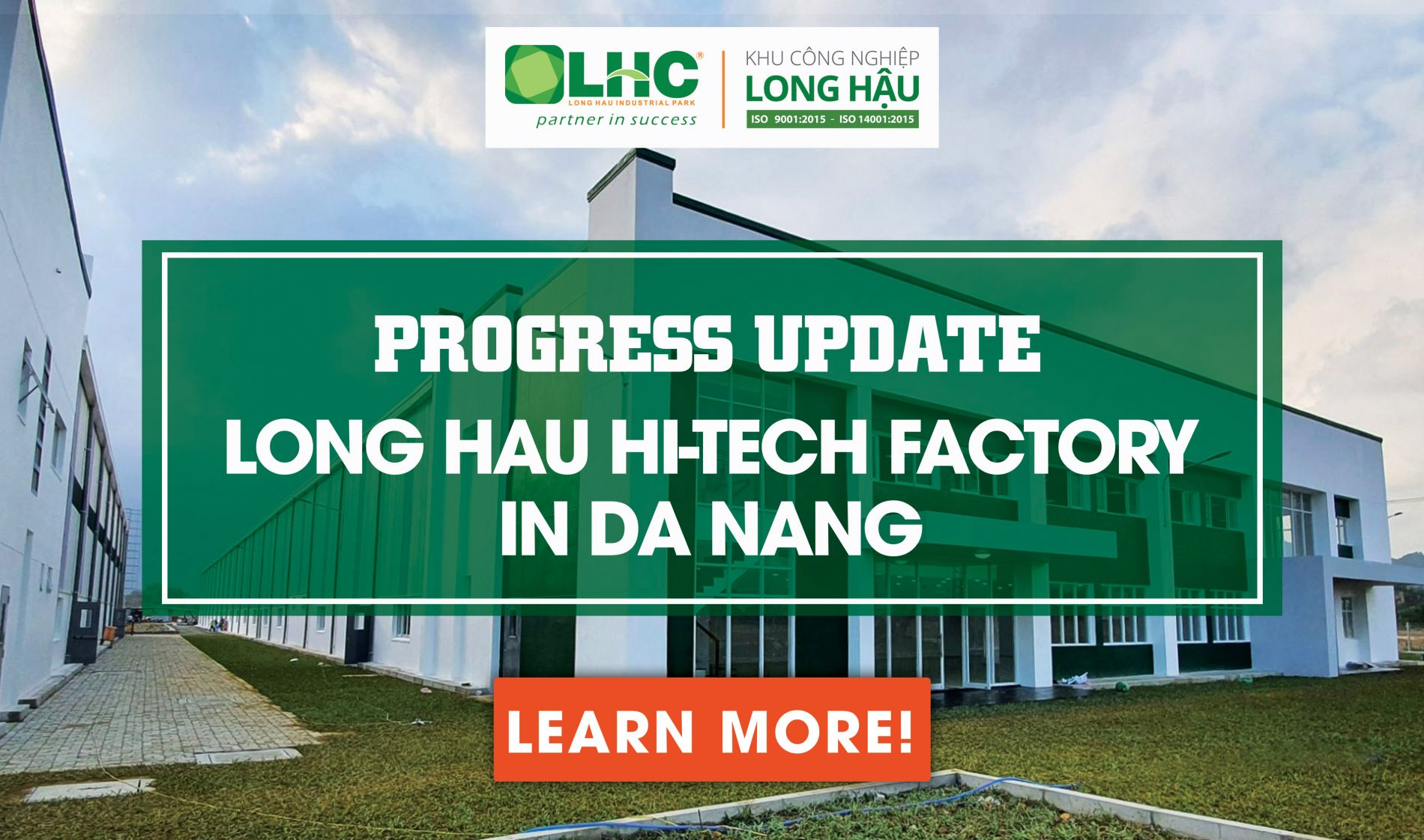 Long Hau Hi-tech Factory in Da Nang Progress Update | March 13th, 2020