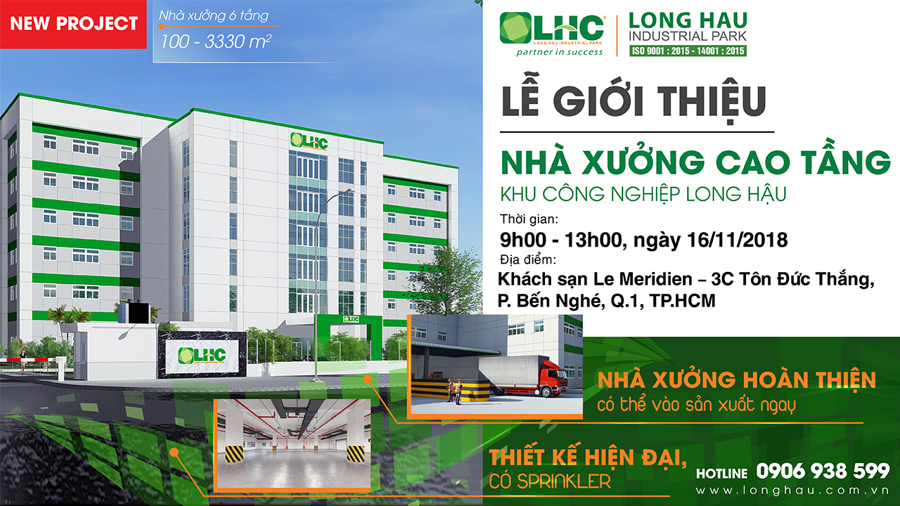 Launching Event of High-rise factory - Long Hau Industrial Park