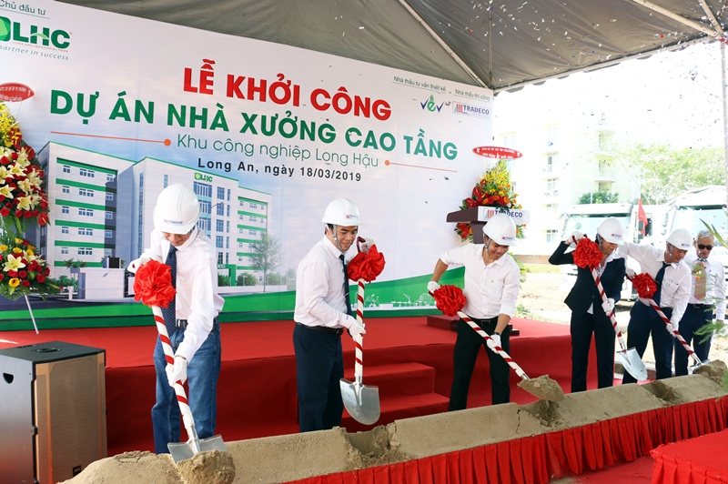 Groundbreaking Ceremony of high-rise factory project in Long Hau Industrial Park