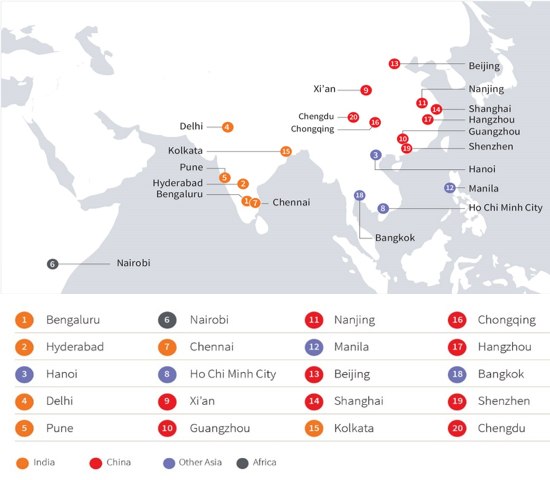 Hanoi and Ho Chi Minh City among the global top 10 most dynamic cities in 2019