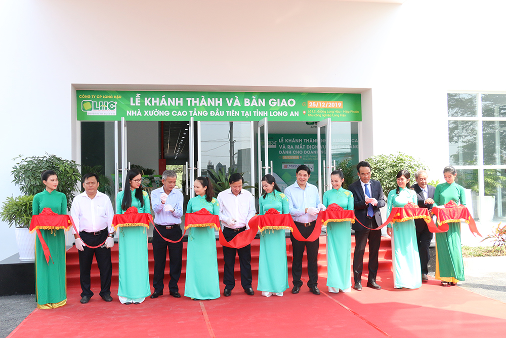 Grand opening and handover ceremony of the first High-rise factory of Long An and Long Hau 3 Industrial Park – Phase 1