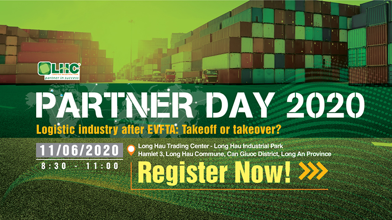 [Upcoming event] Partner Day 2020: Logistics Industry after EVFTA: Takeoff or Takeover?