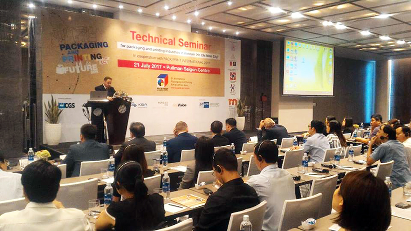 The printing and packaging industry is thriving in Vietnam