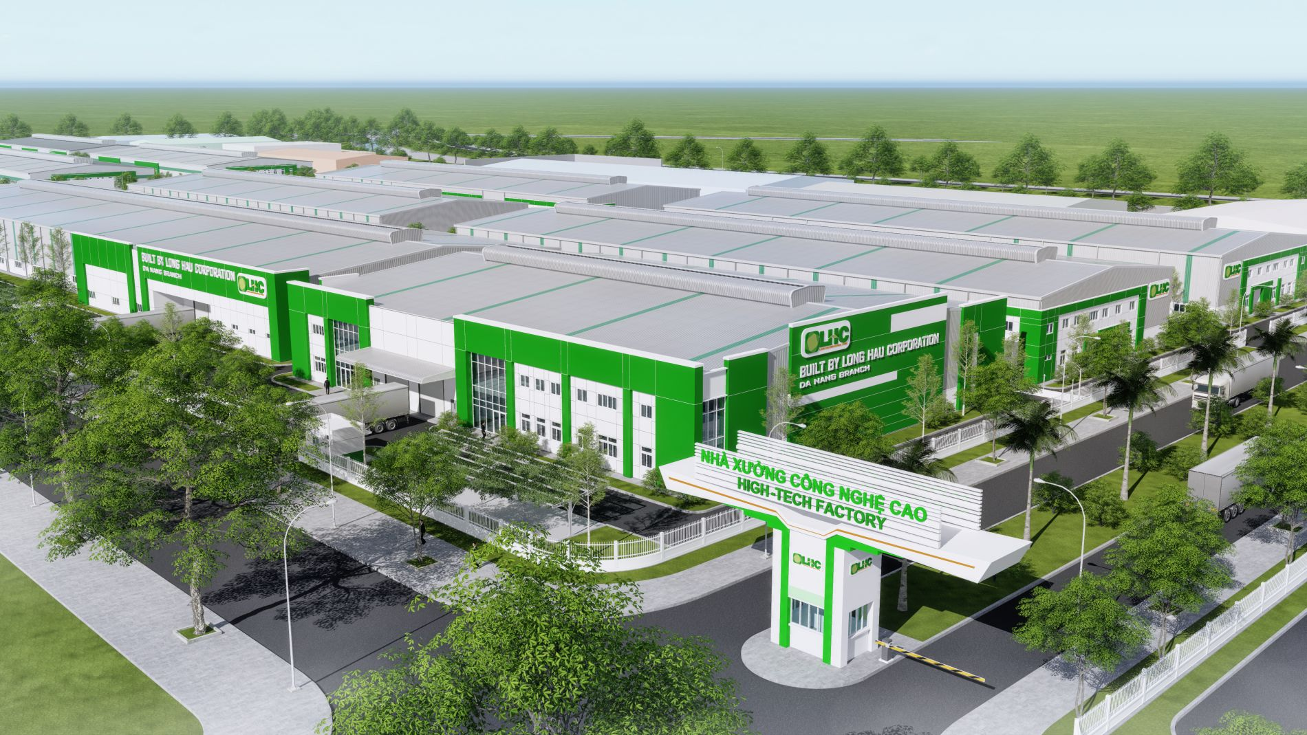 Factory for lease in Da Nang Hi-tech Park