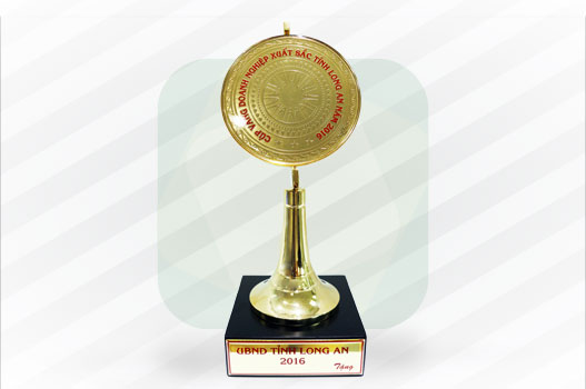Golden Cup of Best Enterprise in Long An